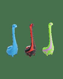 "Silicone Dinosaur Waterpipe- 7"""