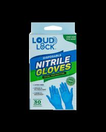 Loud Lock Nitrile Gloves - 30ct